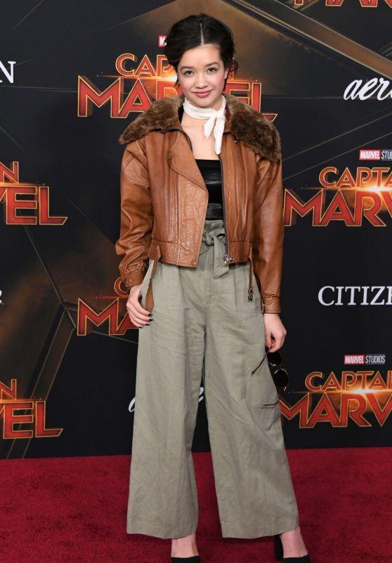 "Peyton Elizabeth Lee – ""Captain Marvel"" Premiere in Hollywood"