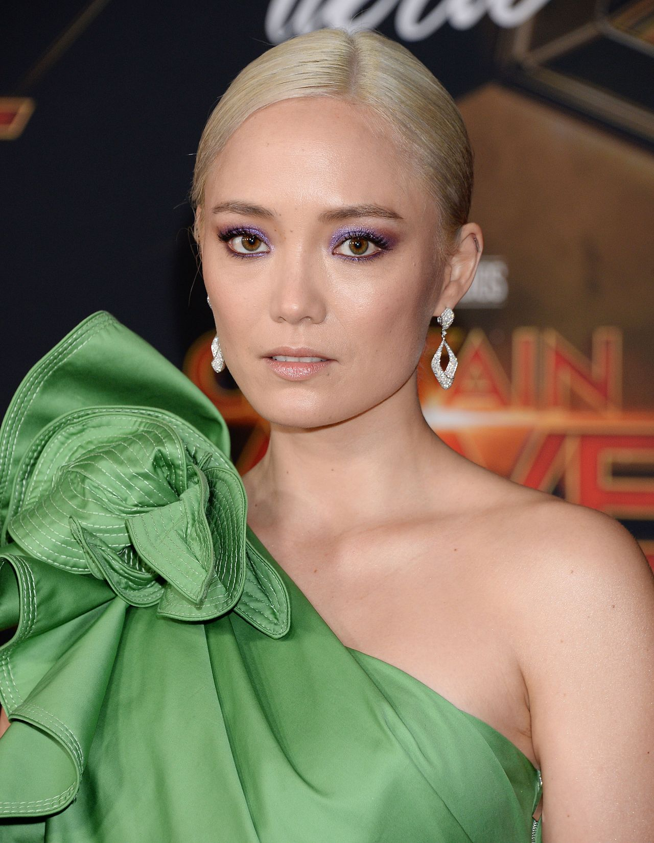 Pom Klementieff - Captain Marvel Premiere in Hollywood