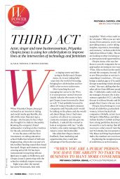 Priyanka Chopra - Forbes India 03/15/2019