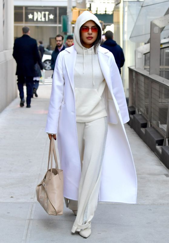 Priyanka Chopra Street Fashion - NYC 03/18/2019