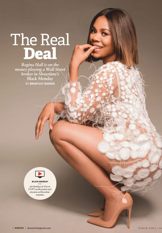 Regina Hall - CBS Watch Magazine March / April 2019 Issue