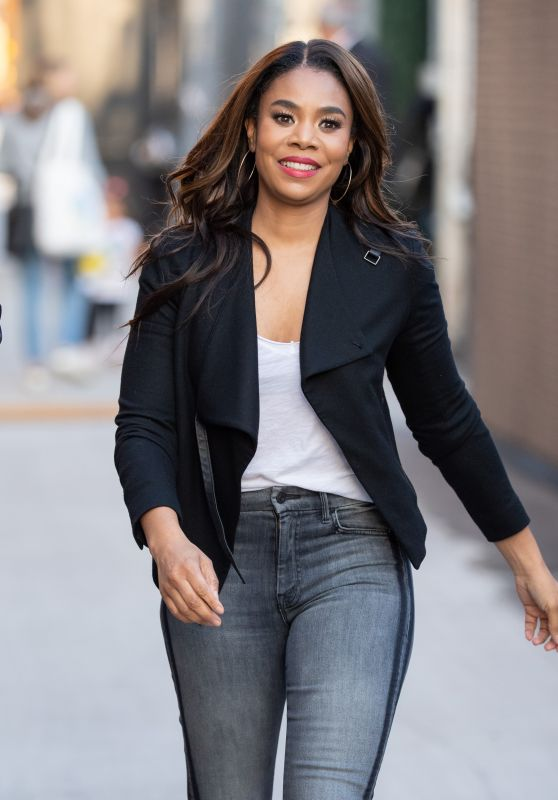 Regina Hall - Outside Jimmy Kimmel Live! Studios in Hollywood 03/25/2019