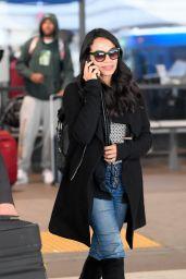 Rosario Dawson - LAX Airport in LA 03/28/2019