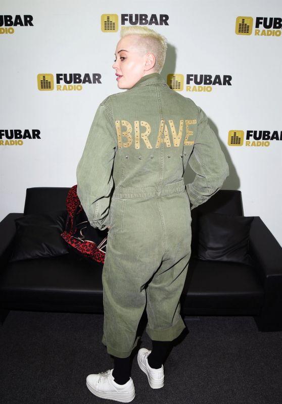 Rose McGowan - Fubar Radio in London 03/06/2019