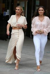 Sam Faiers and Billie Faiers - Outside the ITV Studios in London 03/27/2019
