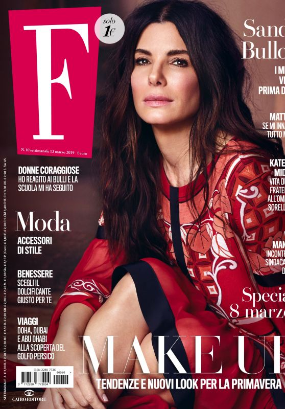 Sandra Bullock - F N10 Magazine 03/13/2019 Issue