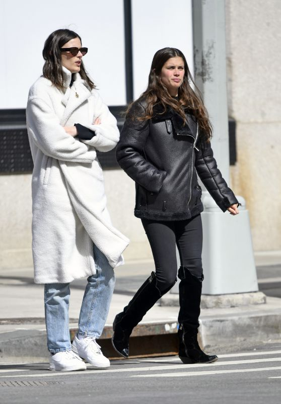 Sara Sampaio and Sadie Newman - Out in Tribeca in NYC 03/18/2019
