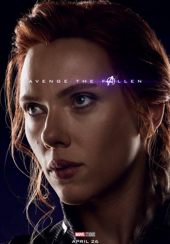 Scarlett Johansson – Avengers: Endgame (2019) Promo Poster