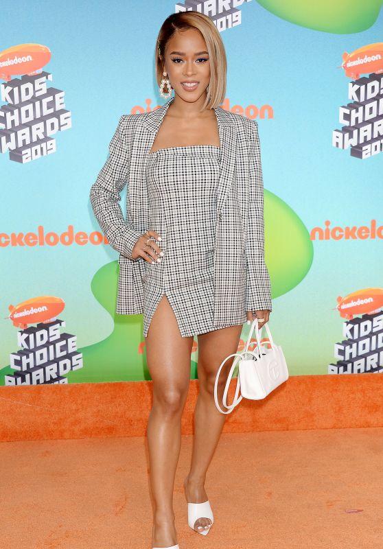 Serayah McNeill – Kids' Choice Awards 2019