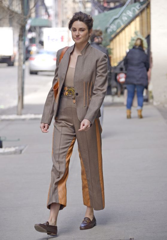 Shailene Woodley Looks Stylish 03/27/2019