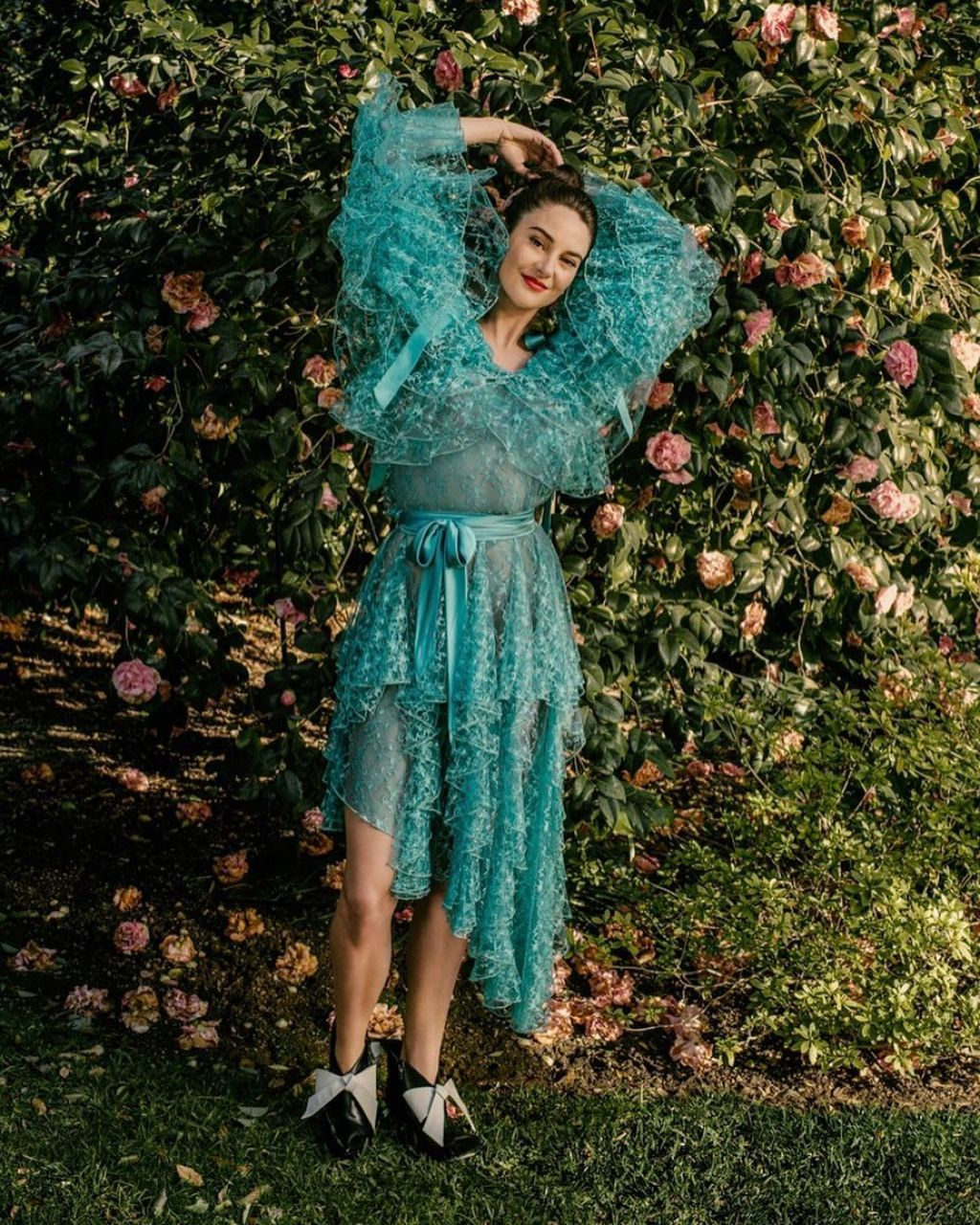Shailene Woodley Photoshoot for InStyle Magazine April 2019