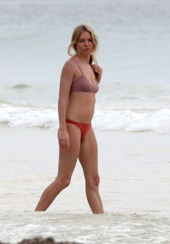 Sienna Miller in Bikini - Tulum 03/22/2019
