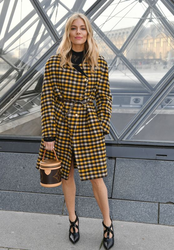 Sienna Miller – Louis Vuitton Fashion Show in Paris 03/05/2019