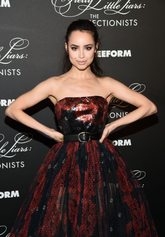"Sofia Carson – ""Pretty Little Liars: The Perfectionists"" Premiere in Hollywood"