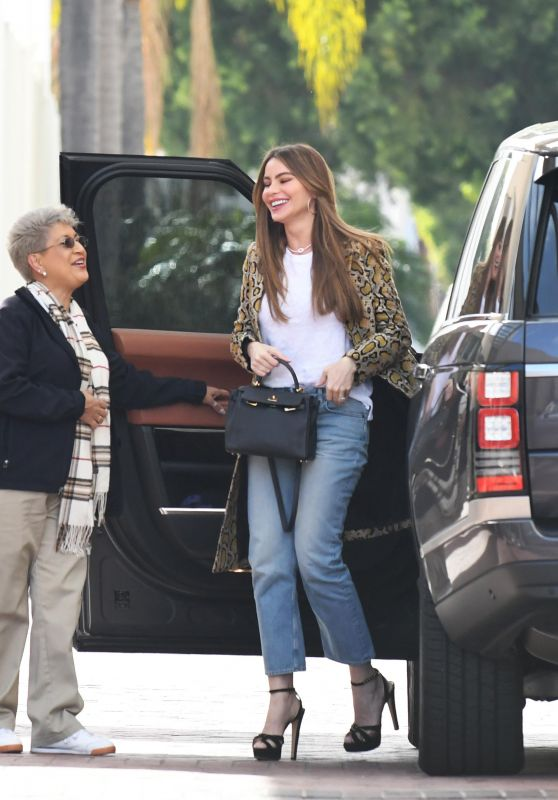 Sofia Vergara - Shopping in Beverly Hills 03/26/2019