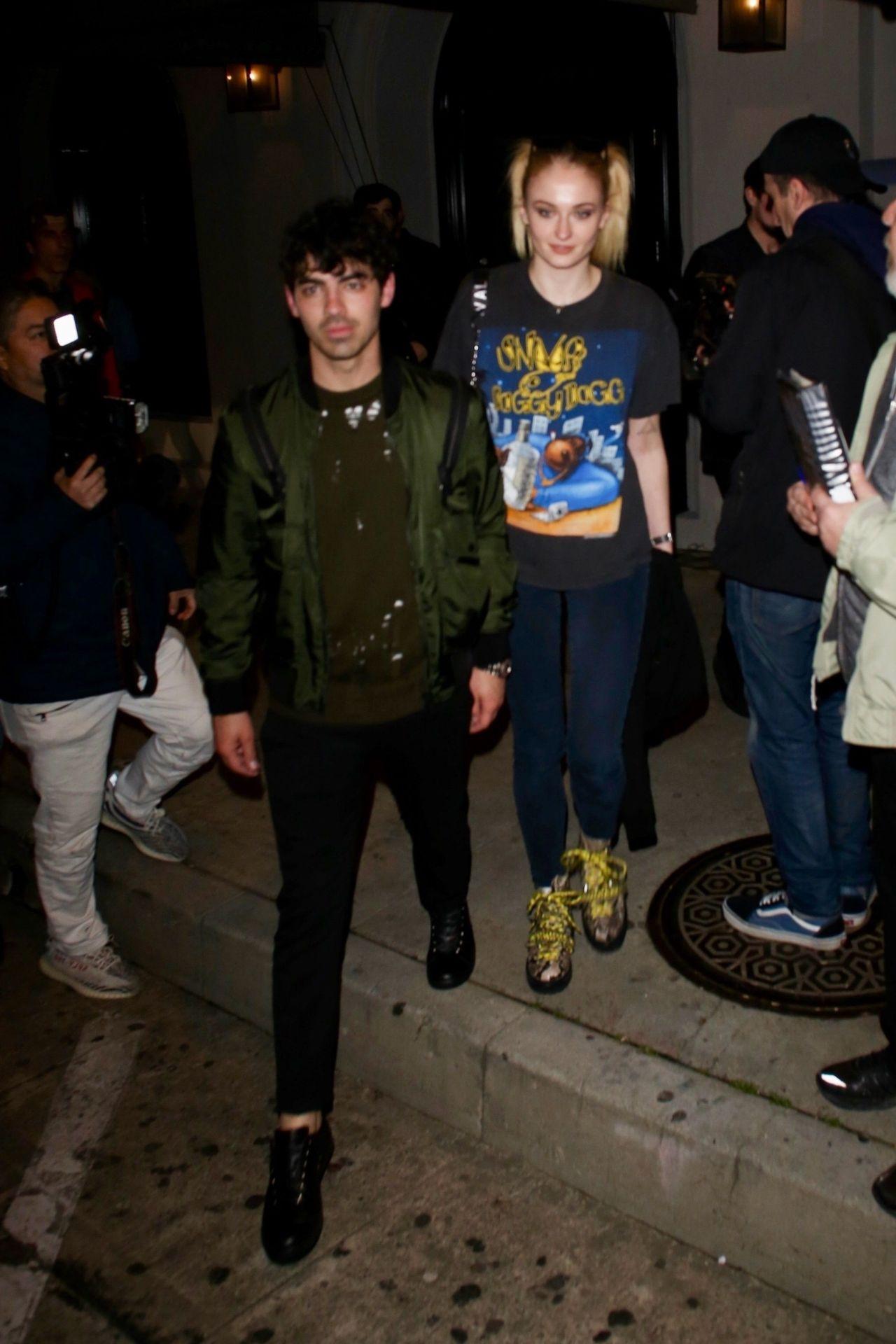 Sophie Turner And Joe Jonas Craigs In West Hollywood 03