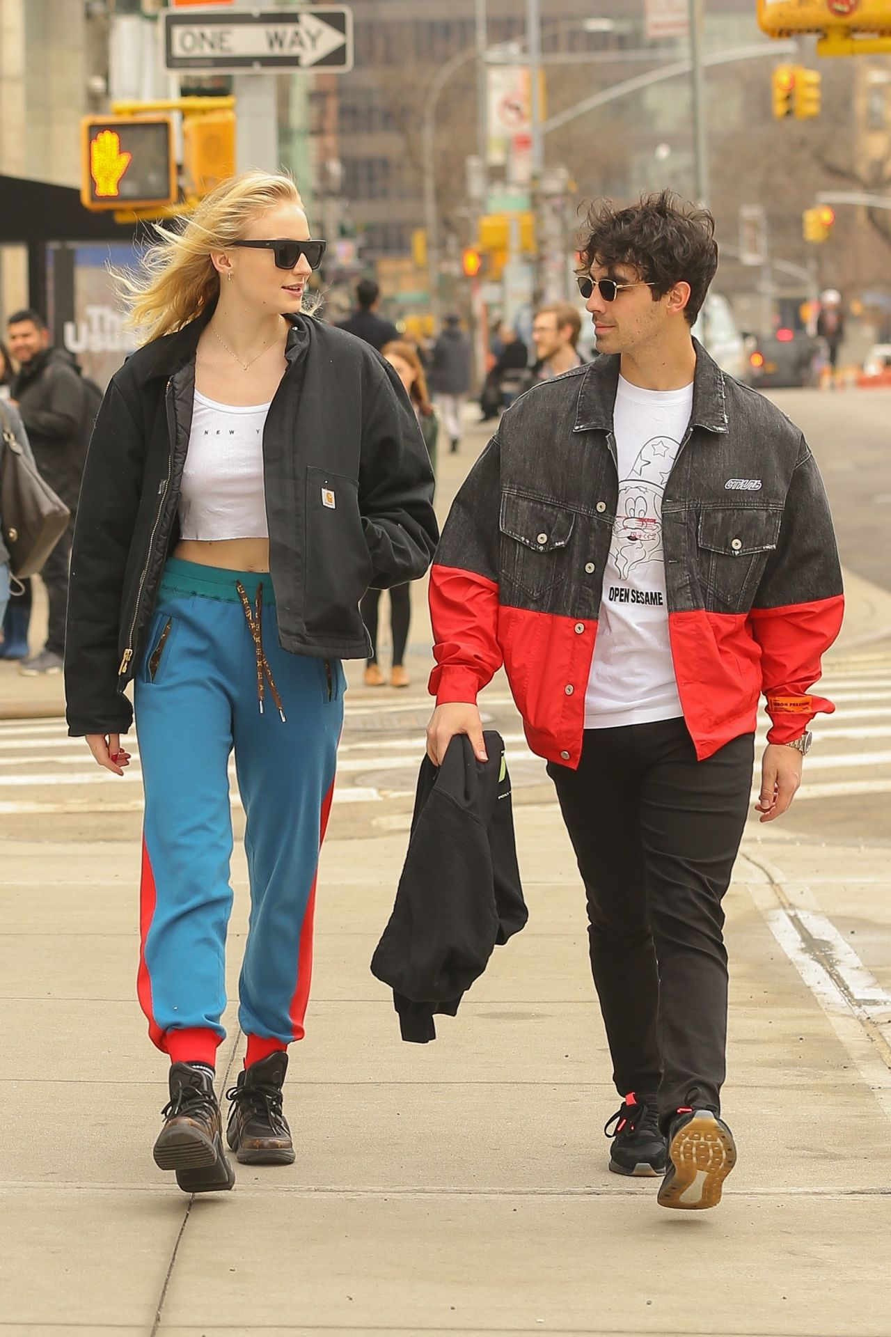 Sophie Turner And Joe Jonas Out In Nyc 03 15 2019