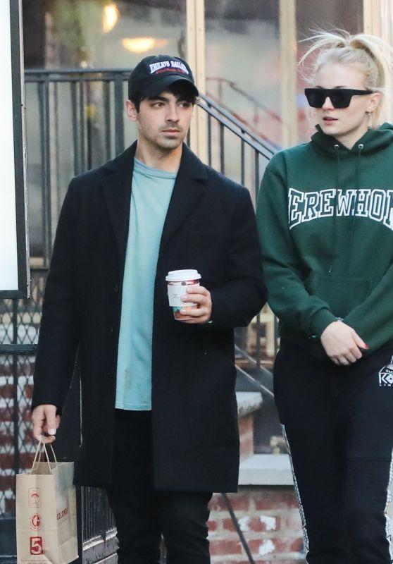 Sophie Turner and Joe Jonas - Run Errands in NYC 03/17/2019