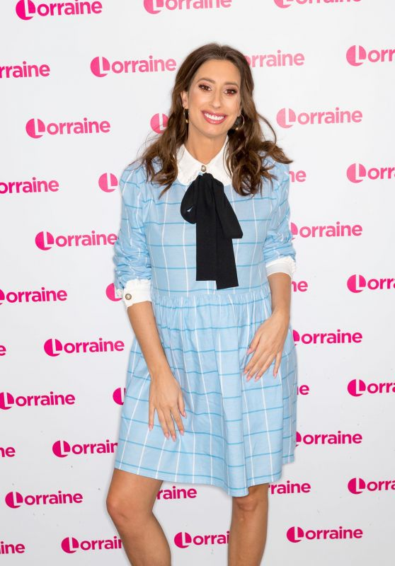 Stacey Solomon - Lorraine TV Show in London 03/15/2019