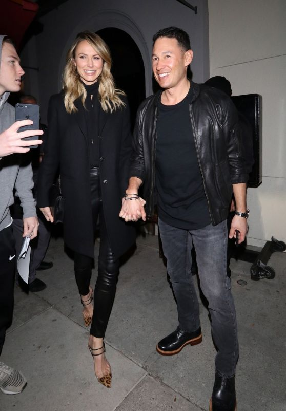 Stacy Keibler and Husband Jared Pobre at Craig