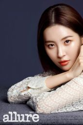 Sunmi - Allure Magazine March 2019