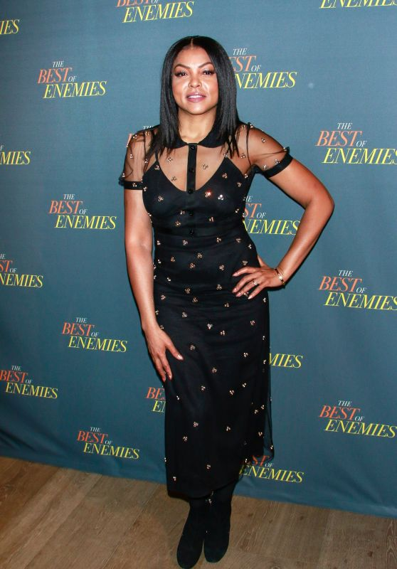 "Taraji P. Henson - ""The Best Of Enemies"" Photo Call in NYC 03/17/2019"