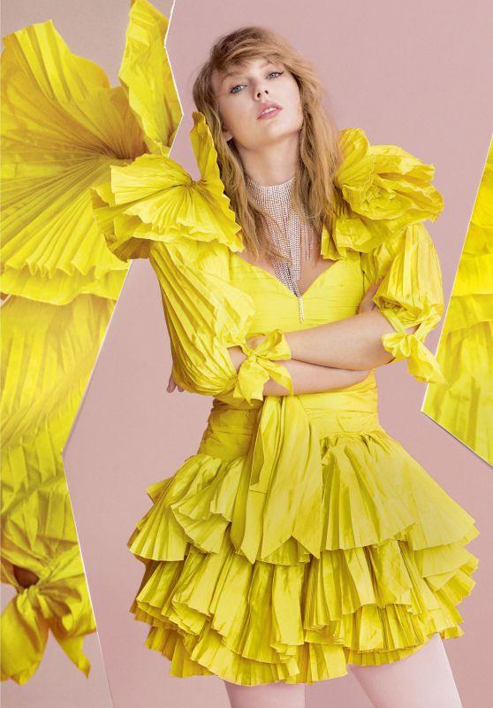 Taylor Swift - ELLE UK April 2019 Photos