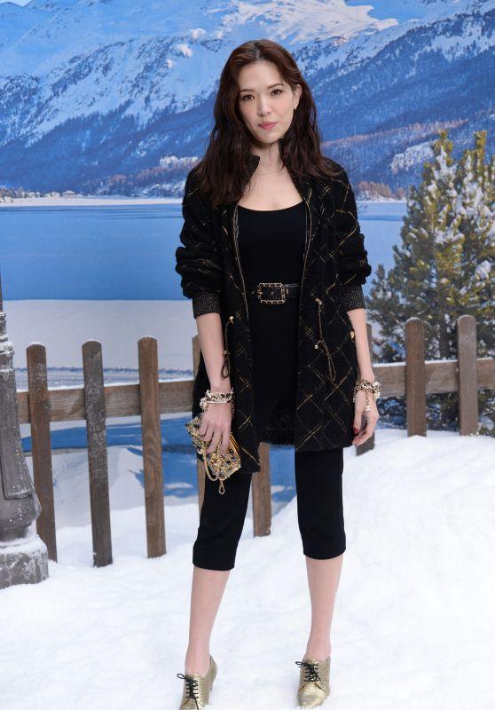 Tiffany Hsu – Chanel Fashion Show in Paris 03/05/2019