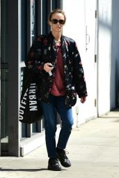 Vanessa Paradis - Shopping at Urban Outfitters in Studio City 03/14/2019