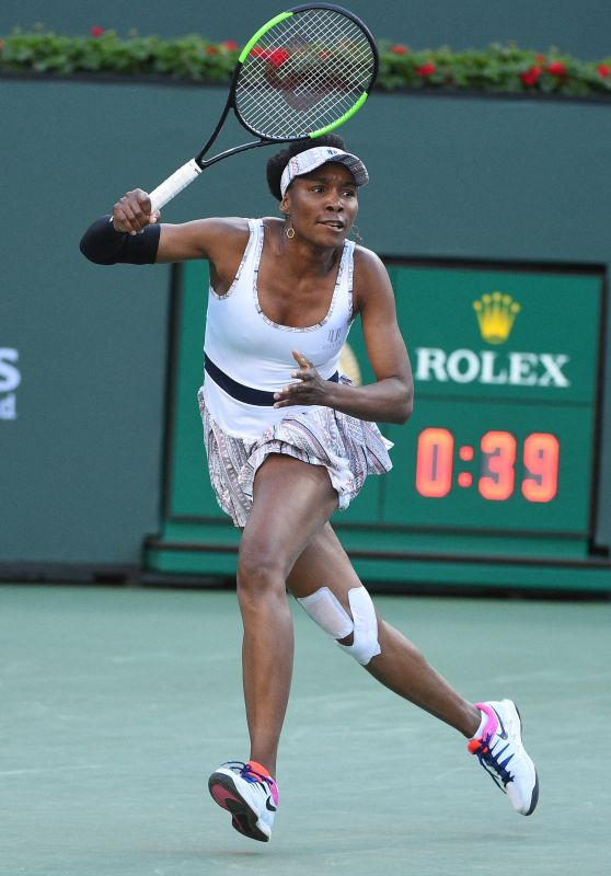 Venus Williams – Indian Wells Masters Quarterfinal 03/14/2019