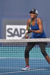Venus Williams – Practises During the Miami Open Tennis Tournament 03/21/2019