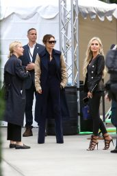 Victoria Beckham - Arrives at Dignity Health Sports Park in Carson 03/02/2019