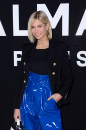 Xenia Adonts – Balmain Fashion Show in Paris 03/01/2019