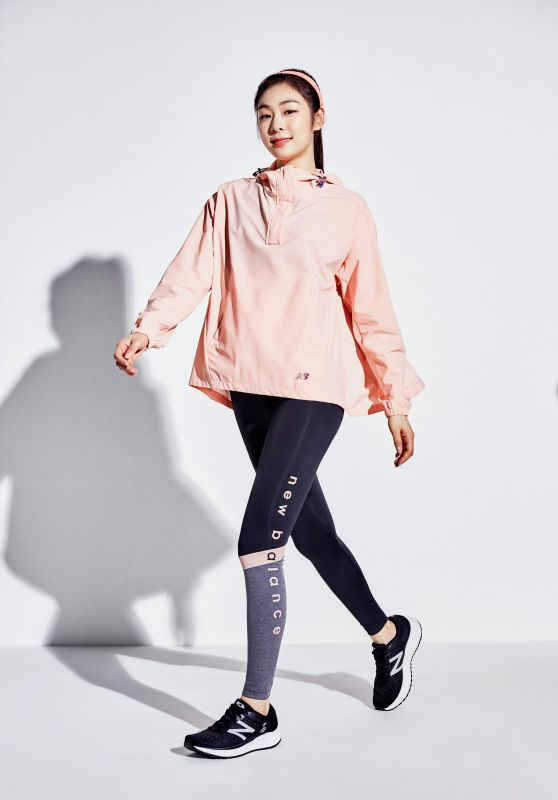 Yuna Kim - Photoshoot for New Balance S/S 2019