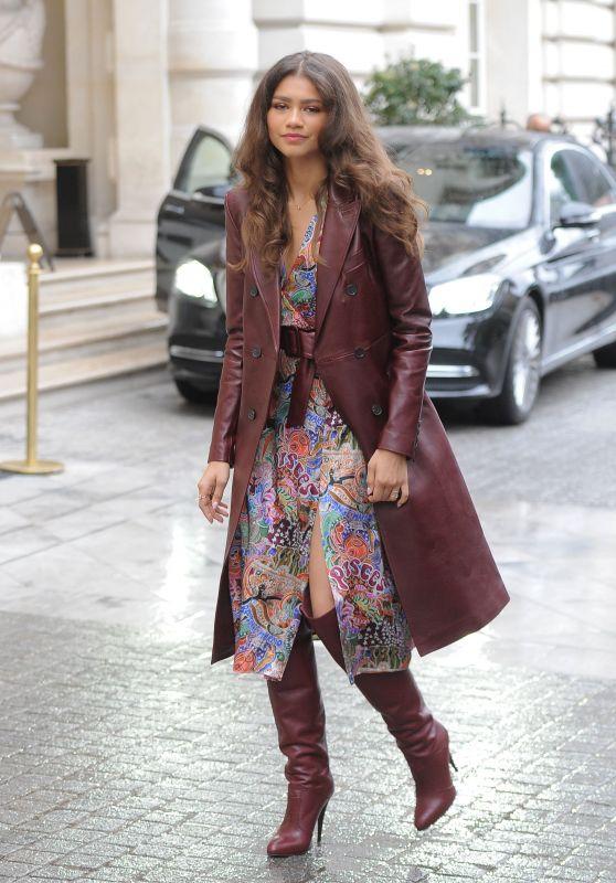 Zendaya Coleman - Leaving Her Hotel in Paris 03/02/2019