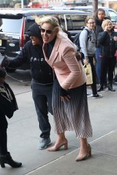 Abbie Cornish - Outside The Bowery Hotel in NYC 04/03/2019