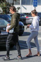 Alessandra Ambrosio and Nicolo Oddi - Out in LA 04/23/2019