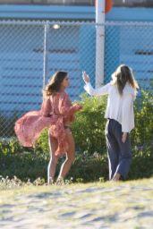 Alessandra Ambrosio - Bikini Photoshoot in Santa Monica 04/11/2019