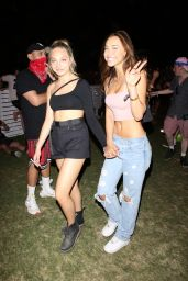 Alexis Ren and Maddie Ziegler - Coachella Valley Music and Arts Festival in Indio 04/14/2019