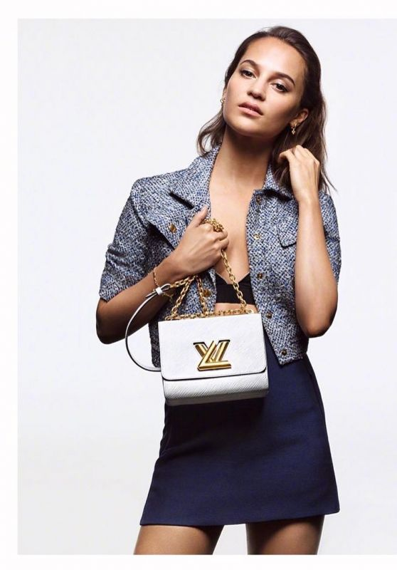 Alicia Vikander – Louis Vuitton April 2019