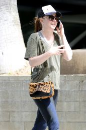 Alyson Hannigan - Heading to a Workout Session in LA 04/23/2019
