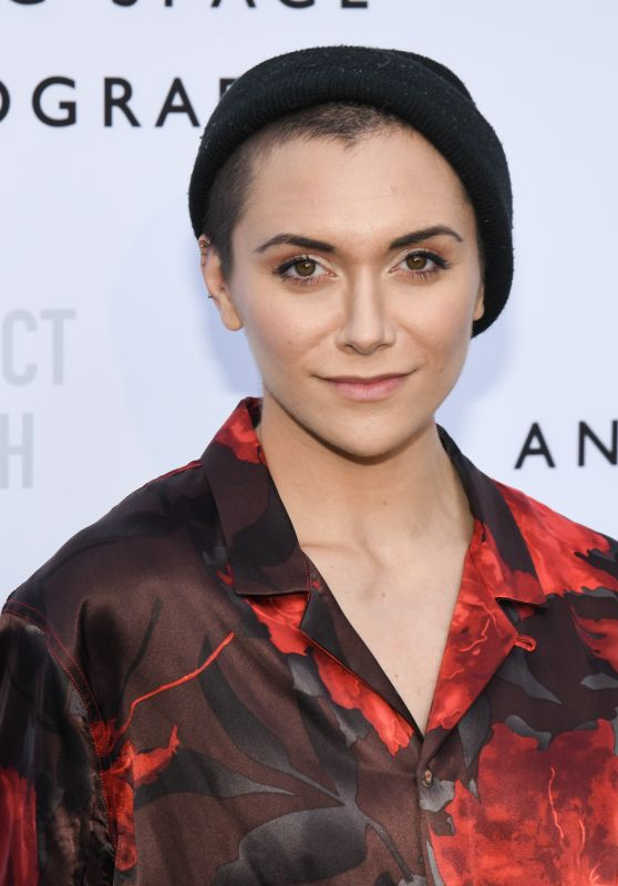 Alyson Stoner - Annenberg Space For Photography 10 Year Anniversary Celebration Opening Exhibition in LA