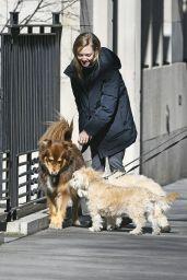 Amanda Seyfried - Walks Her Dog in New York 04/02/2019