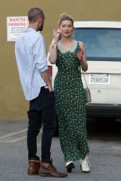 Amber Heard at Mantee Cafe in Studio City 04/13/2019