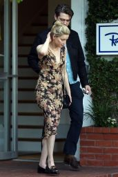 Amber Heard With Andy Muschietti - Out in Los Angeles 03/31/2019