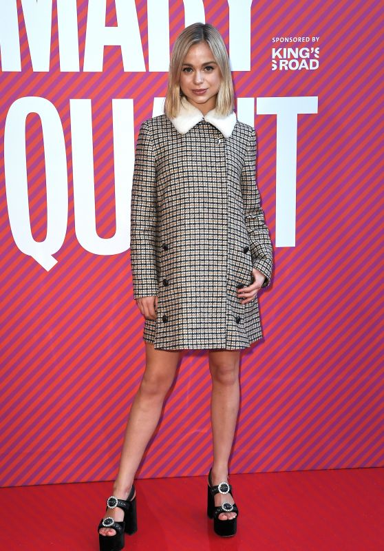 Amelia Windsor - Mary Quant Exhibition in London 04/03/2019