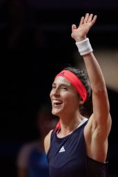 Andrea Petkovic - Porsche Tennis Grand Prix in Stuttgart 04/23/2019