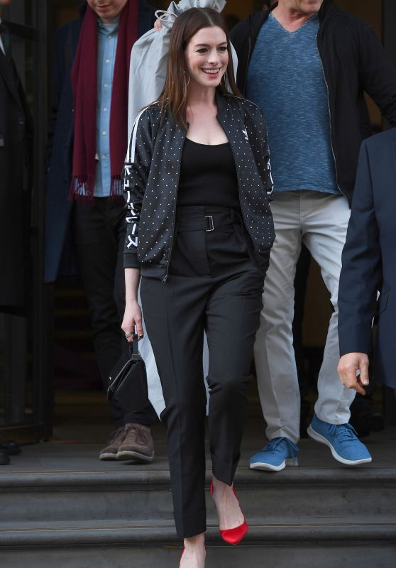 Anne Hathaway - Out in London 04/18/2019