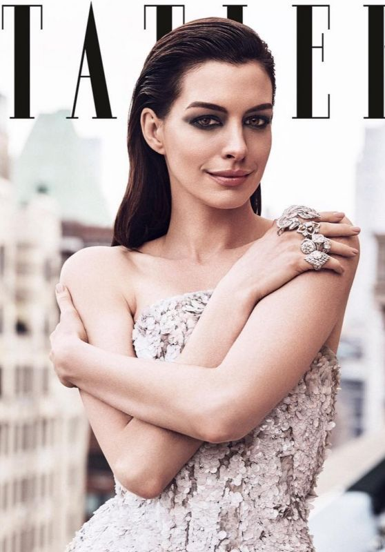Anne Hathaway - Tatler Magazine June 2019