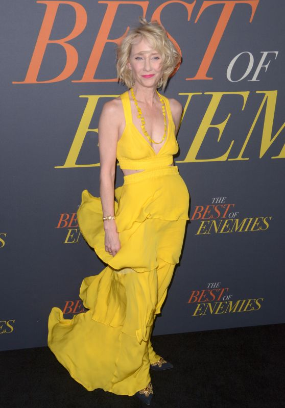 "Anne Heche – ""The Best Of Enemies"" Premiere in NYC"
